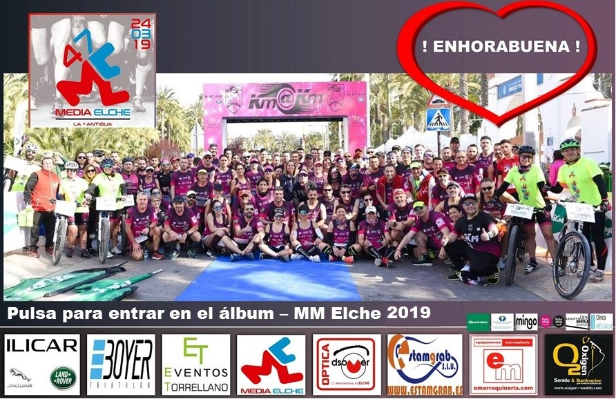 Pulse sobre la foto, para abrir álbum - 47 Media Maratón Internacional Ciudad de Elche